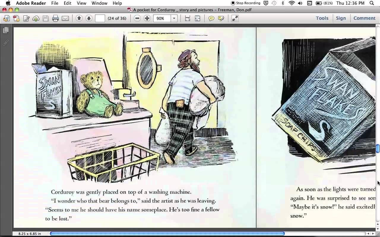 A Pocket for Corduroy (read aloud) | A Pocket for Corduroy | Pinterest