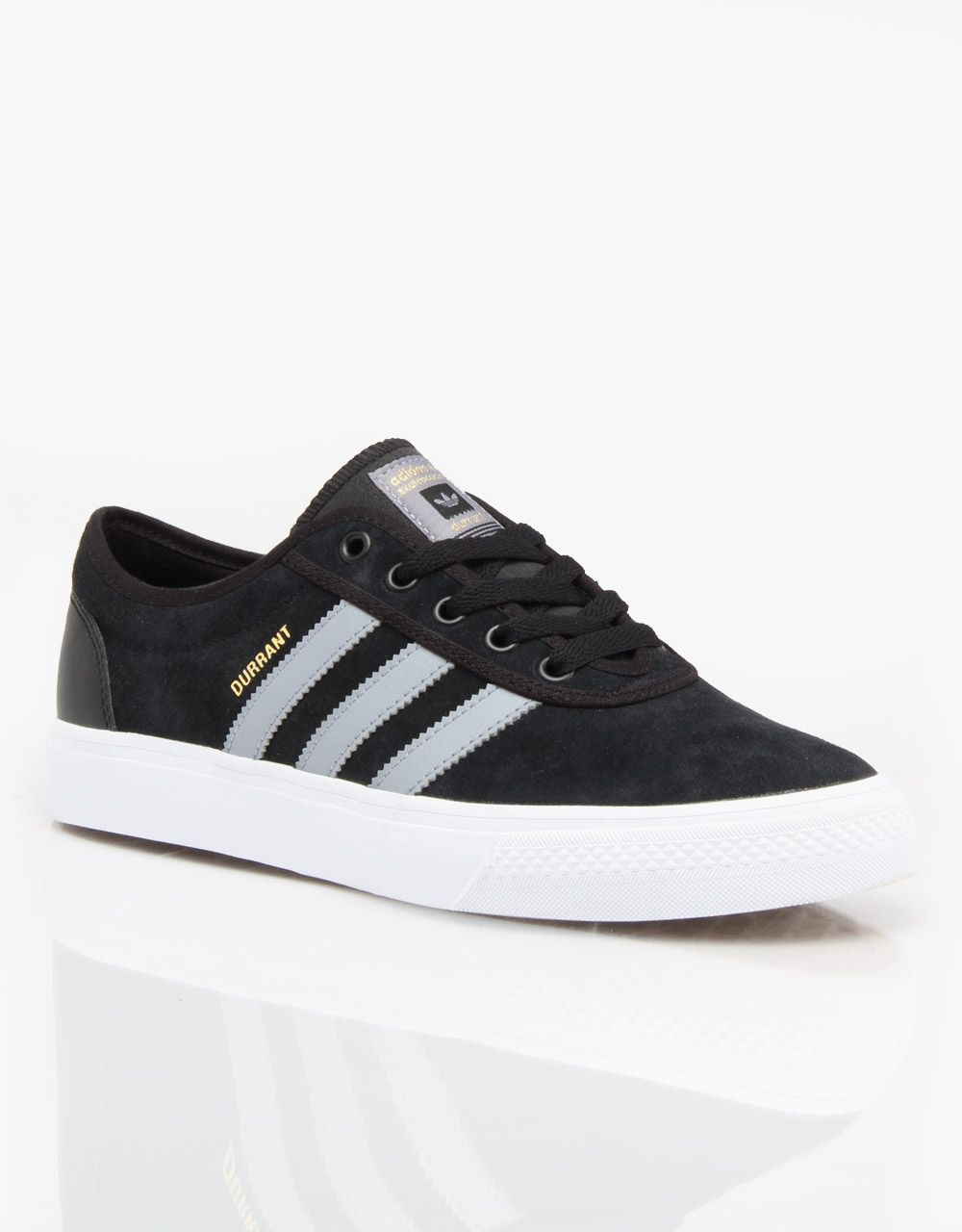 Adidas Adi-Ease Pro (Dennis Durrant) Skate Shoes - Black/Grey/