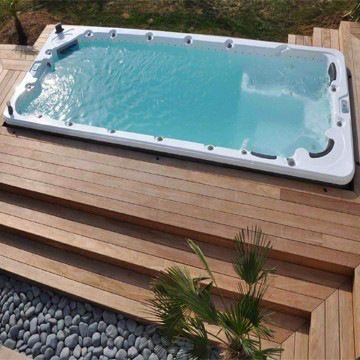 Swim Spa In Deck Design Google Search