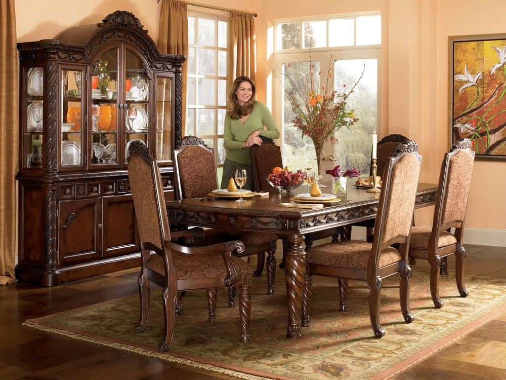 Lovely Buy North Shore Rectangular Dining Room Set Millennium From Www Round  Pedestal Ashley Furniture Amazing Pictures