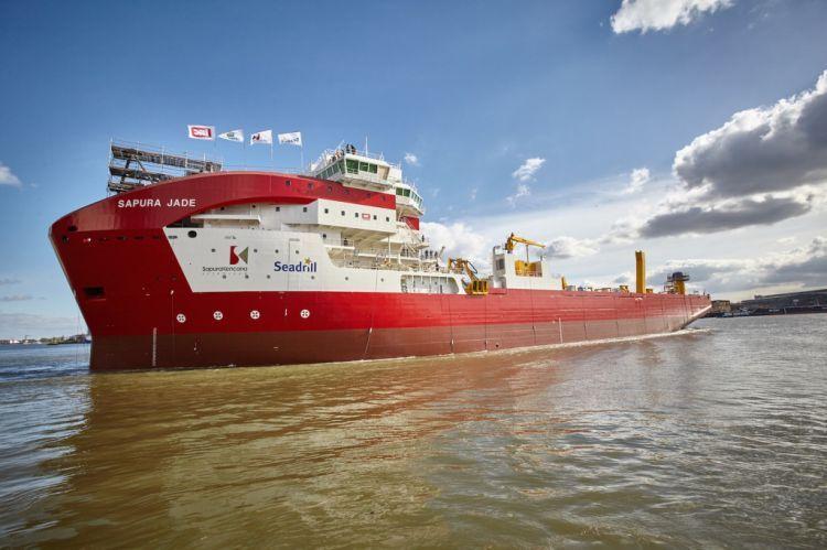 Sapura Jade & Onix Launched, pair of off shore giant work