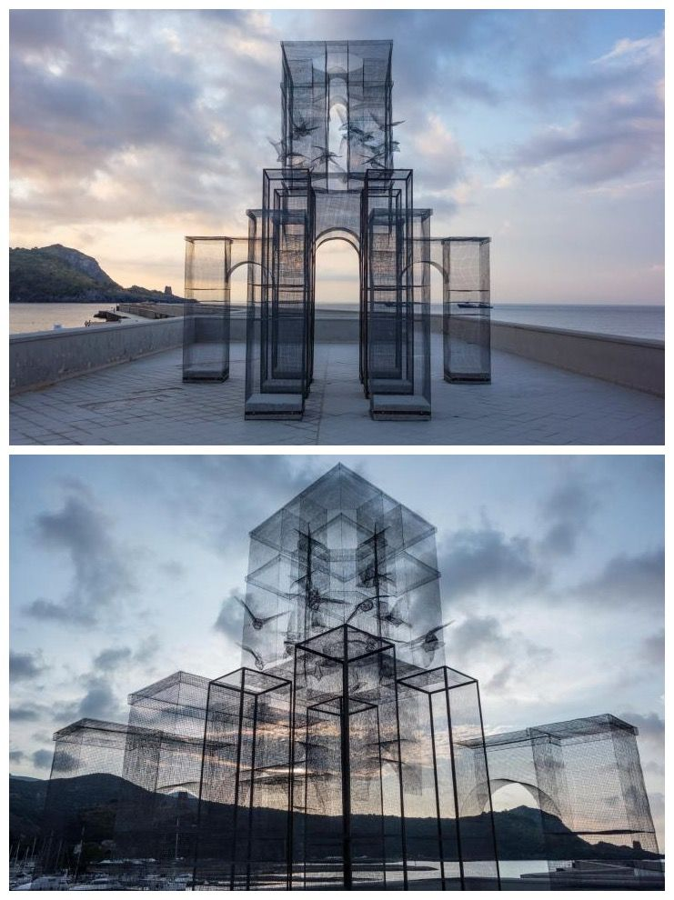 Edoardo Tresoldi - mesh wire sculptures, art, sculpture | Art Is The ...