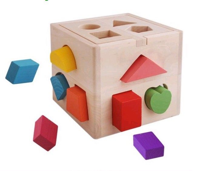 Intelligence Development Wooden Educational Toy for Children Kids Baby Gift 2019