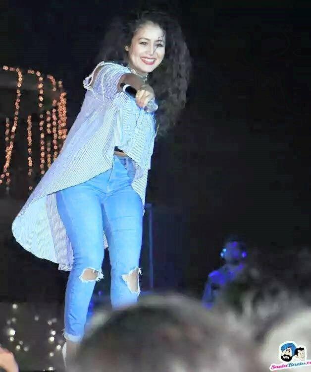Neha Kakkar Looking Indian Bollywood Fashion