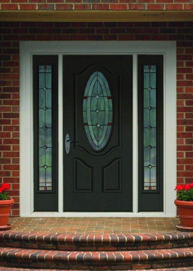 20 Black Front Door Designs For An Elegant Looking Living Space Front Door Front Door Design Glass Front Door