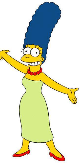 Marge Simpson Marge Simpson Marge Simpson Costume Simpsons Drawings