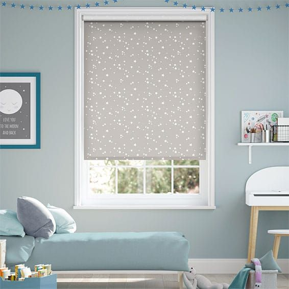 Twinkling Stars Blackout Cloud Roller Blind in 2020 (With ...