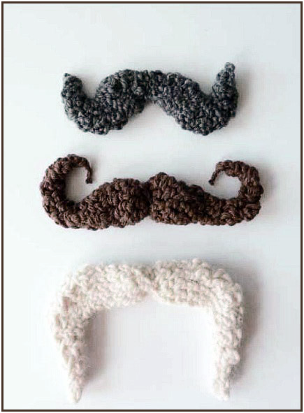 It's not too late to be a mustachioed __________ for Halloween. #crochet #costume #halloween #mustache #knithacker