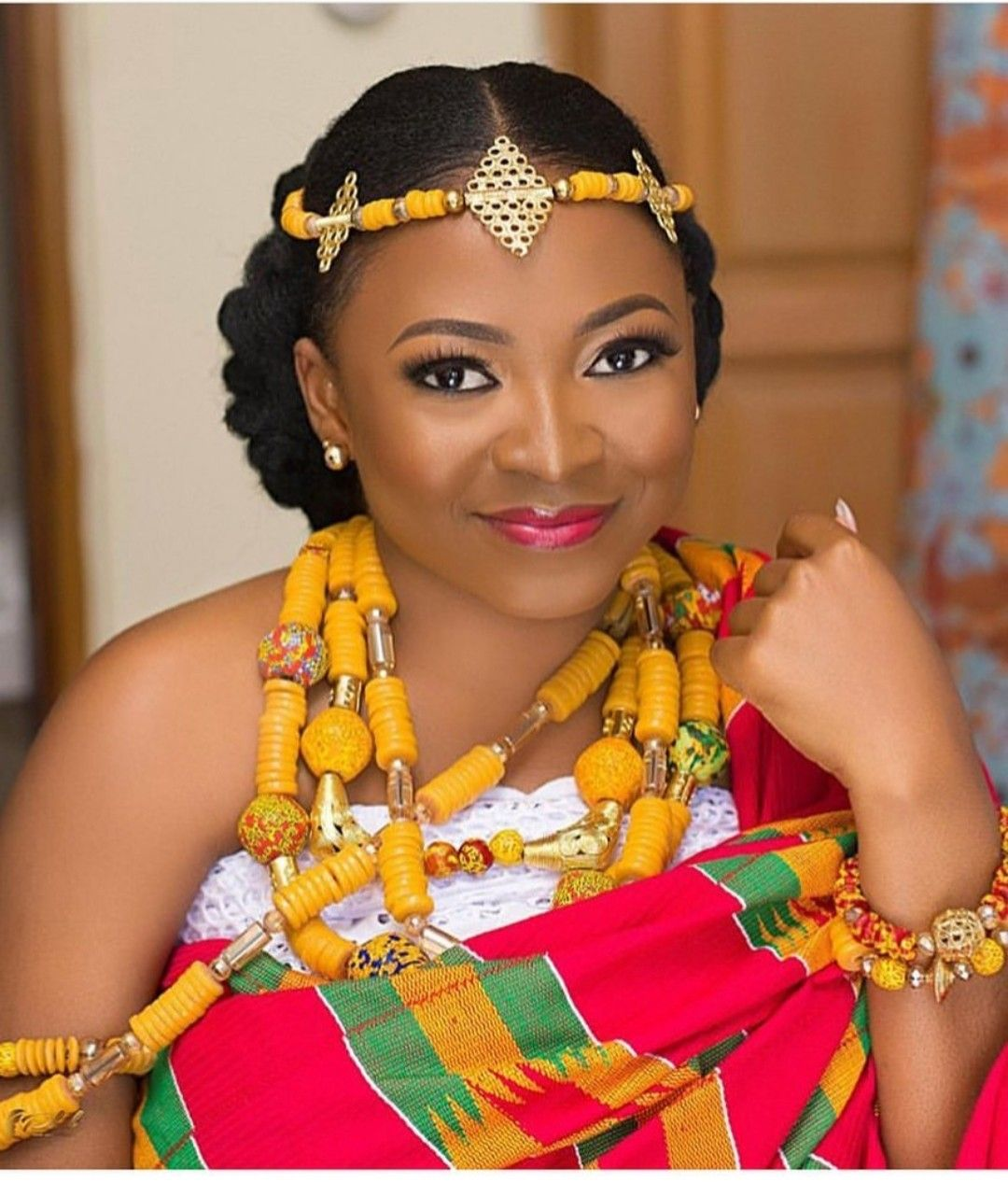 Ghanaian Wedding Hairstyles 2018 Latest Bridal Hairstyles In Ghana Today Newspaper Natural Hair Styles Hair Styles Bridal Hairstyles With Braids