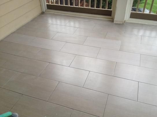 Metro Charcoal With Dark Grout