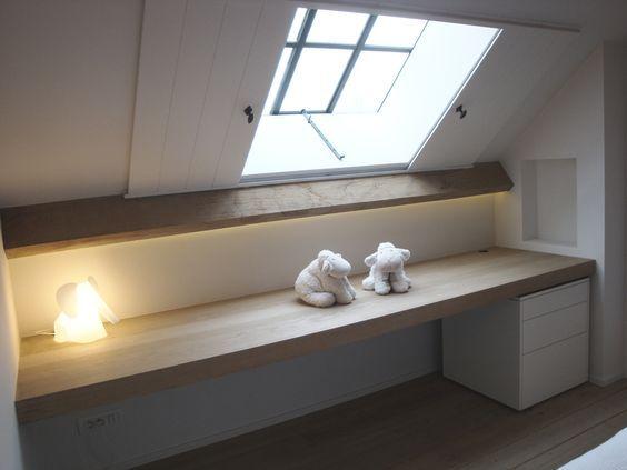 Beaucoup d espace limit cause d un toit en pente ou - Pente d un toit ...