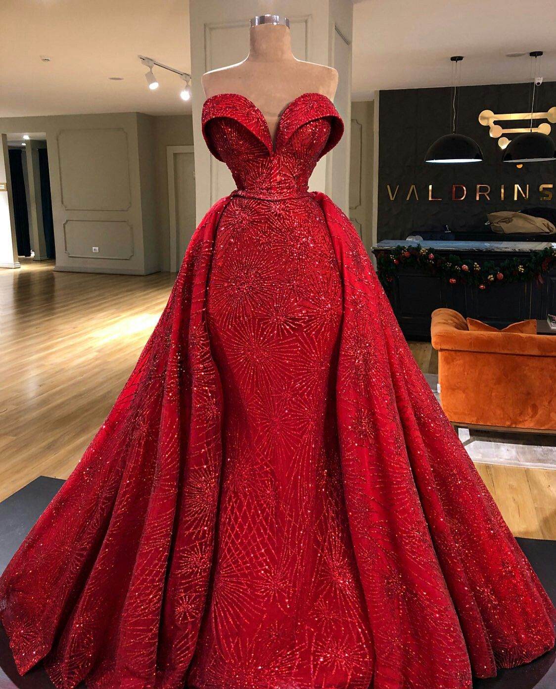 Grand session dress | Grand session Atire | Red lace prom ...