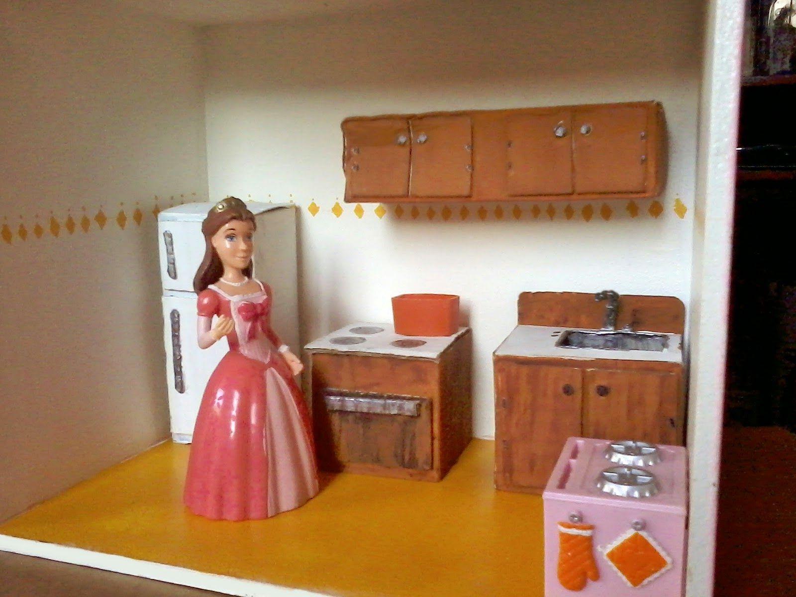 Image Result For Como Hacer Muebles En Miniatura Para Casas De  # Muebles Fibrofacil Para Casa Munecas