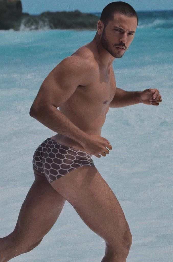 909f5a37b6 Pin by LovingTheRainbow on Men Shorts, Underwear, Swimsuits | Trajes ...