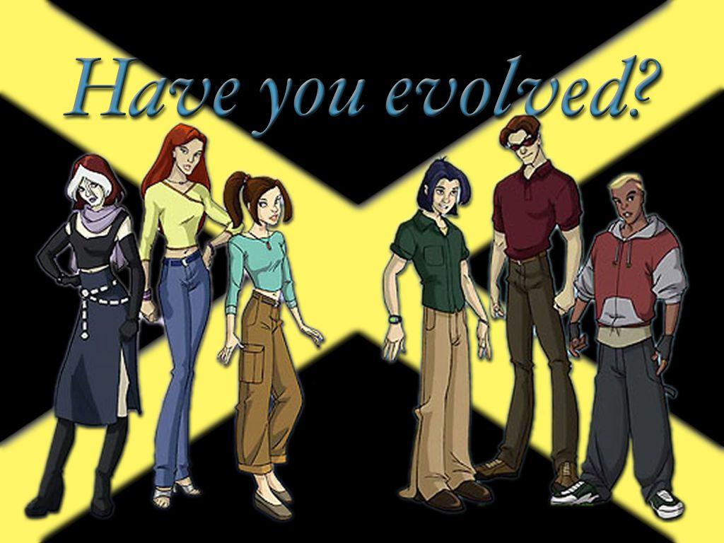 X Men Evolution Rogue Jean Kitty Kurt Scott Evan