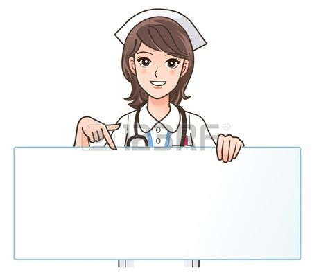 foto de Stock Vector Nurse art Nurse cartoon Nurse clip art