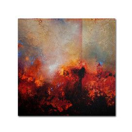 """""""Red Earth"""" by Cody Hooper Painting Print on Wrapped Canvas"""