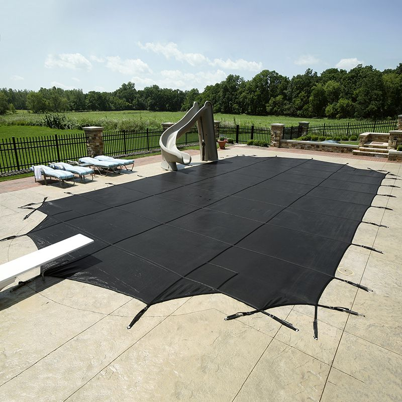 above ground pool mesh safety cover