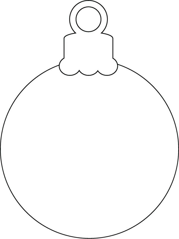 Christmas Ornament Coloring Page The Following Is Our Collection Of Christmas Ornament Template Printable Christmas Ornaments Christmas Ornament Coloring Page