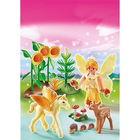 Playmobil Princess Autumn Fairy Princess With Pegasus