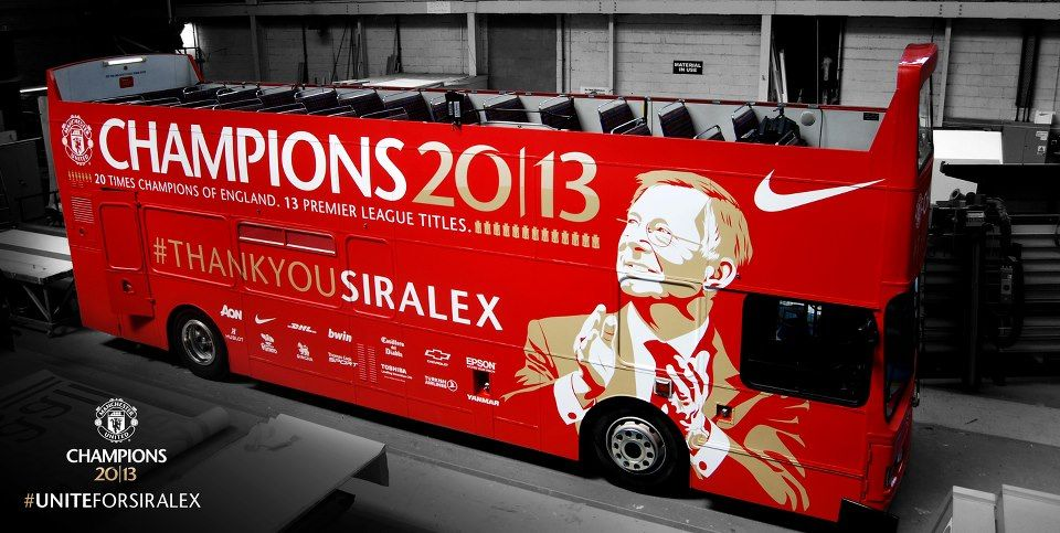 LIVE: United's title parade! Ferguson's champions take to ...