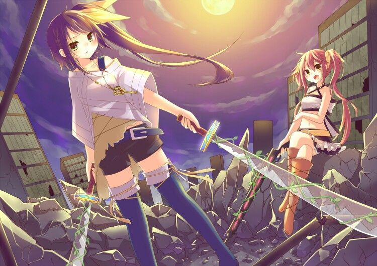 Anime | the left is me and the right is my cousin's friend