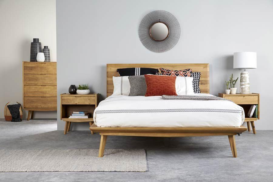 Bedshed Borissa 1 499 Bedroom Furniture Retro Bed Contemporary Bedroom Furniture