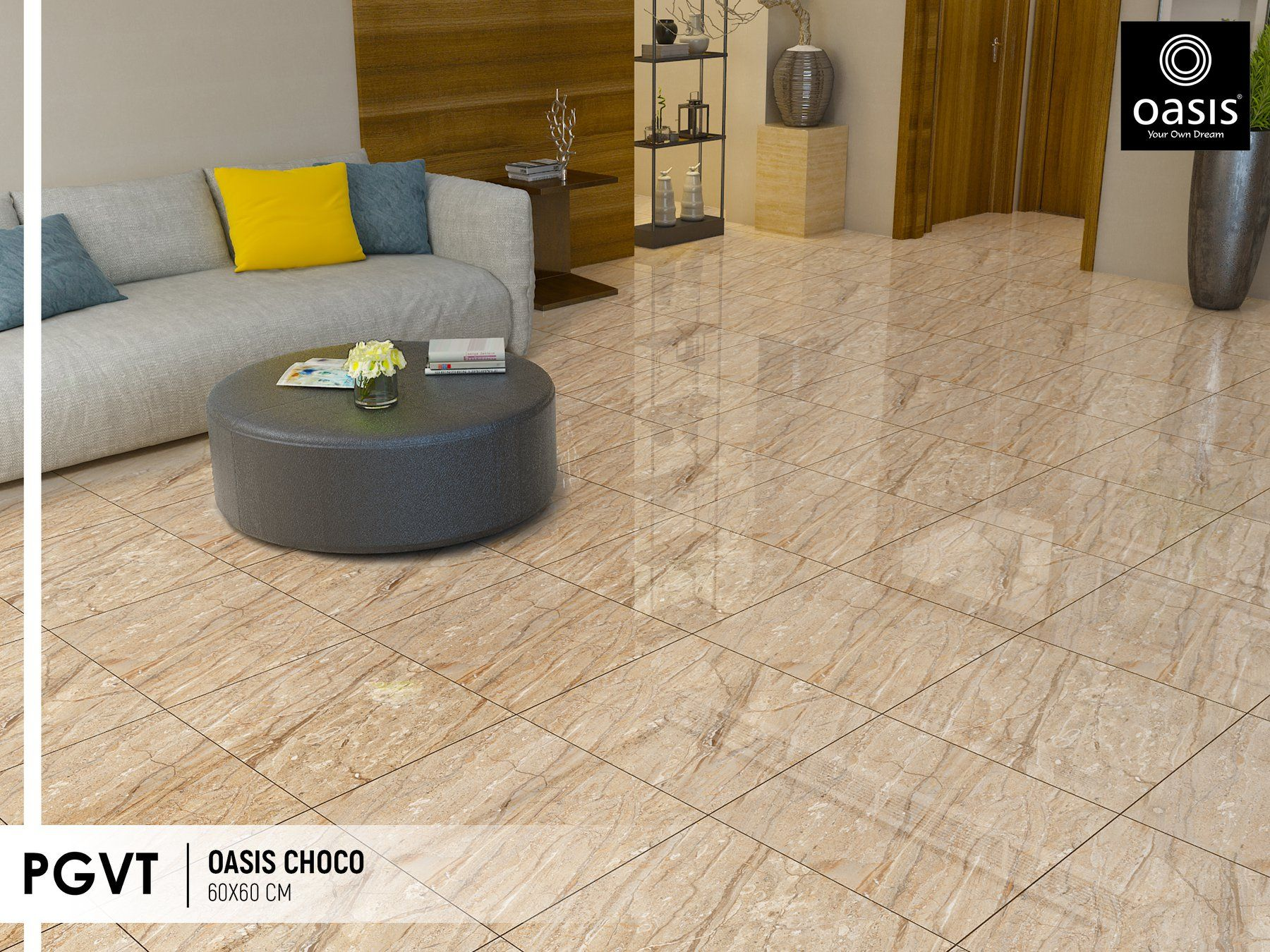 Tile Floor By Oasis Tiles India On Oasis Tiles Polished Glazed