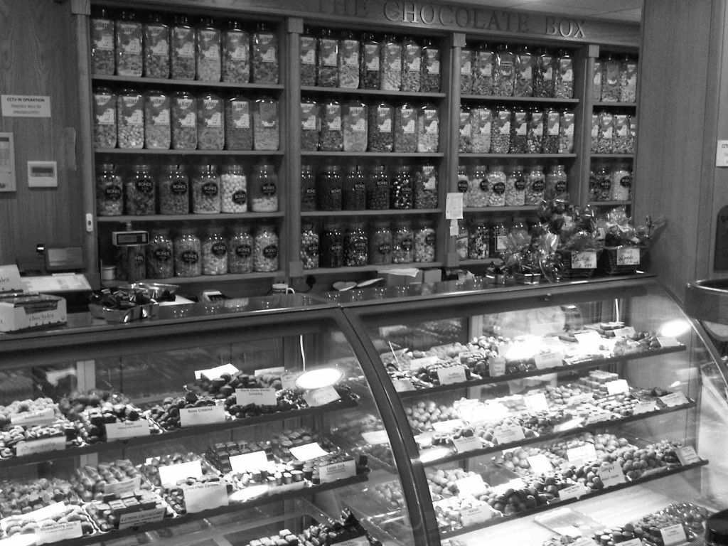 The Chocolate Box - Douglas Isle of Man Regent Street