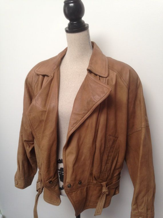 1c85858de Vintage Winlit Women's Leather Jacket by 21Vintage on Etsy, $45.00 ...