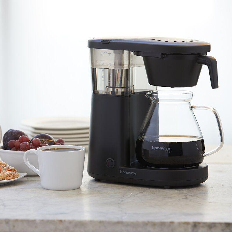 Bonavita Coffee 8 Cup Metropolitan One Touch Drip Coffee Maker In 2020 Drip Coffee Maker Camping Coffee Maker Bonavita Coffee Maker