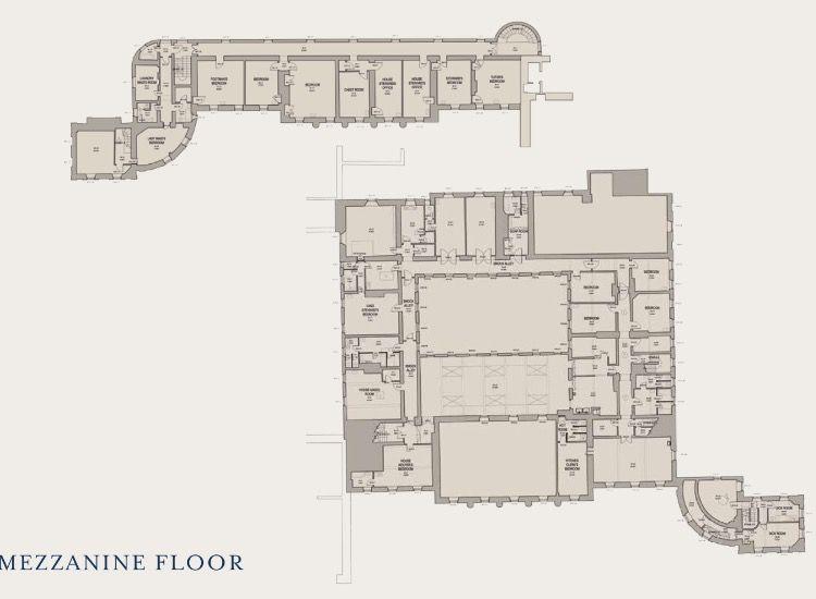 Wentworth Woodhouse Floor Plan Pinterest