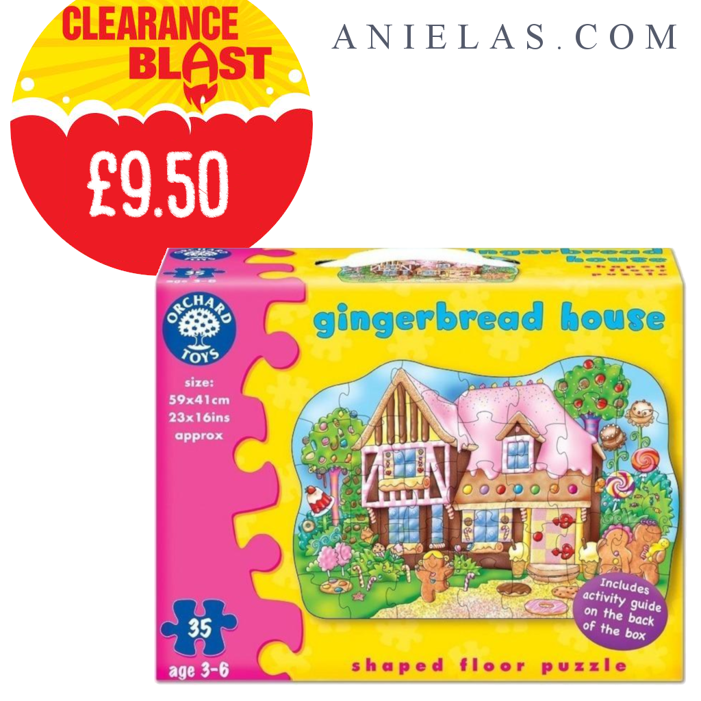 Orchard Toys Gingerbread House Orchard toys, Gingerbread