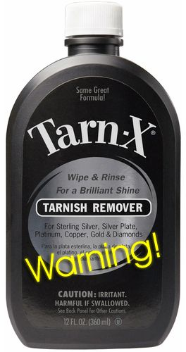 Tarn X Tarnish Remover Review And Other Silver Dips Warning