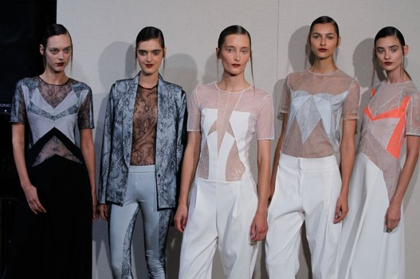 Anne Valérie Hash Spring 2014 Collection