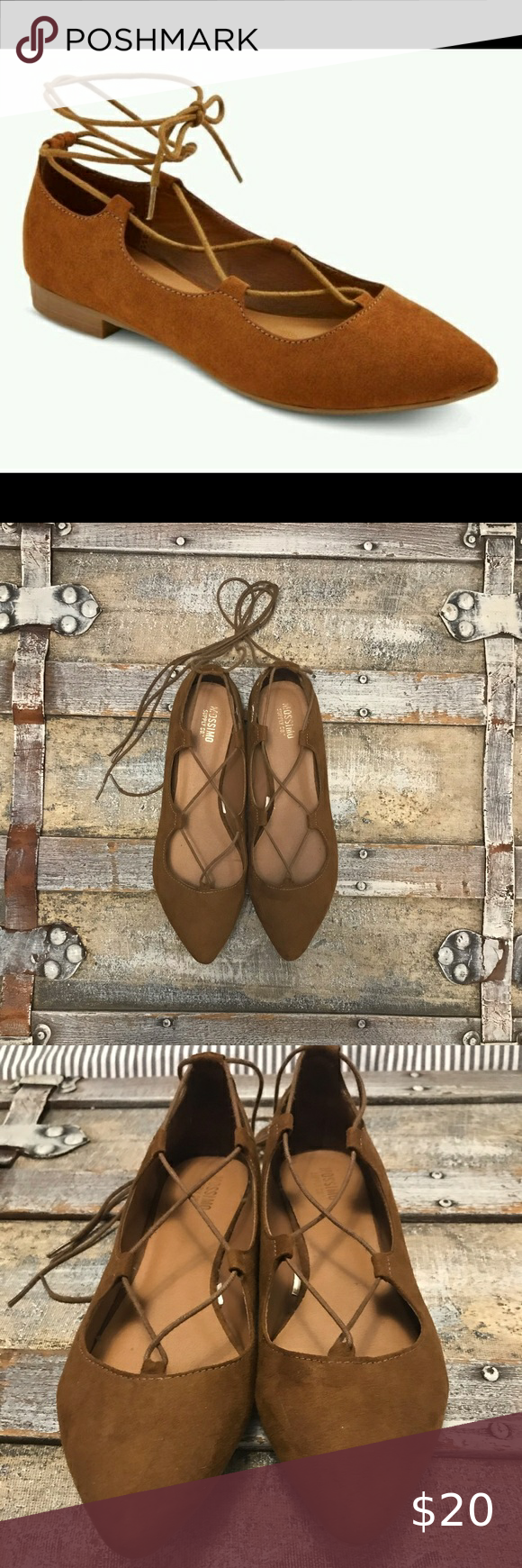 Mossimo lace up flats in 2020 | Lace up