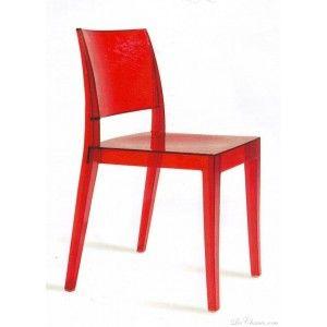 Fauteuil Rouge Ou Violet En Polycarbonate Et Tissu Design Lafayette Fauteuil Design Mobilier De Salon Fauteuil Moderne