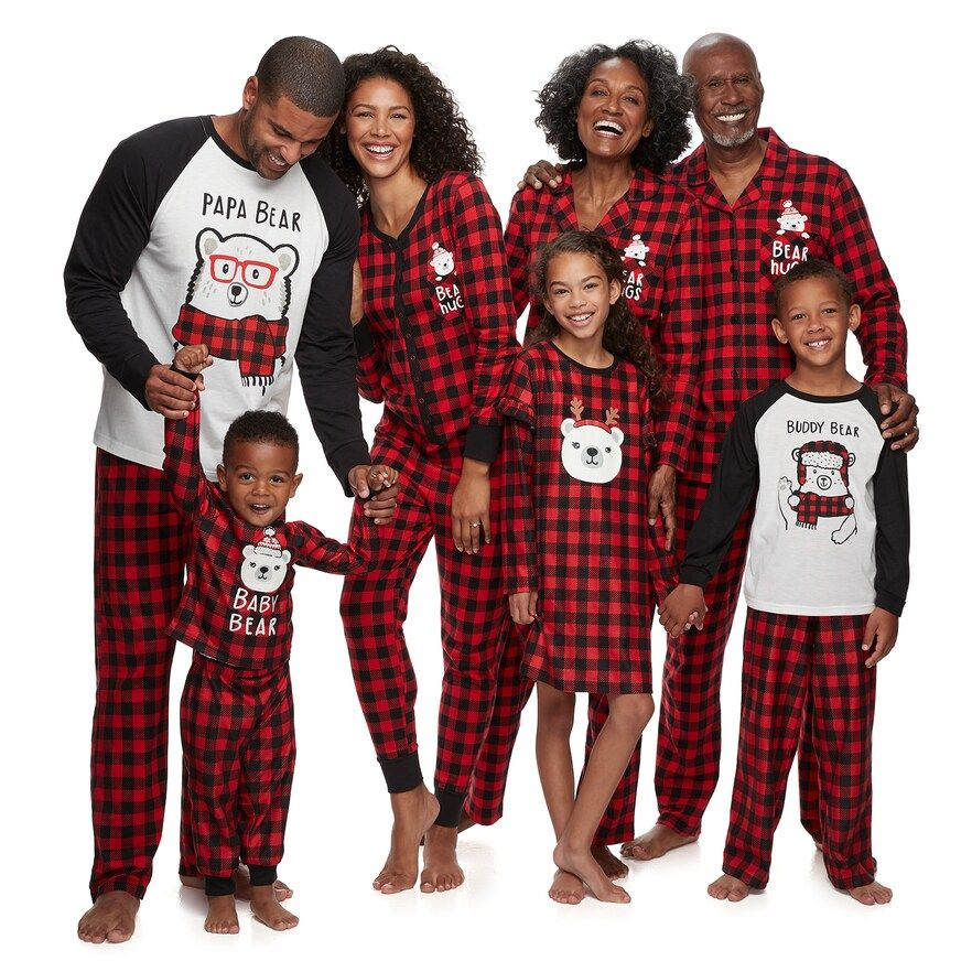 Jammies For Your Families Cool Bear Family Pajamas Collection By