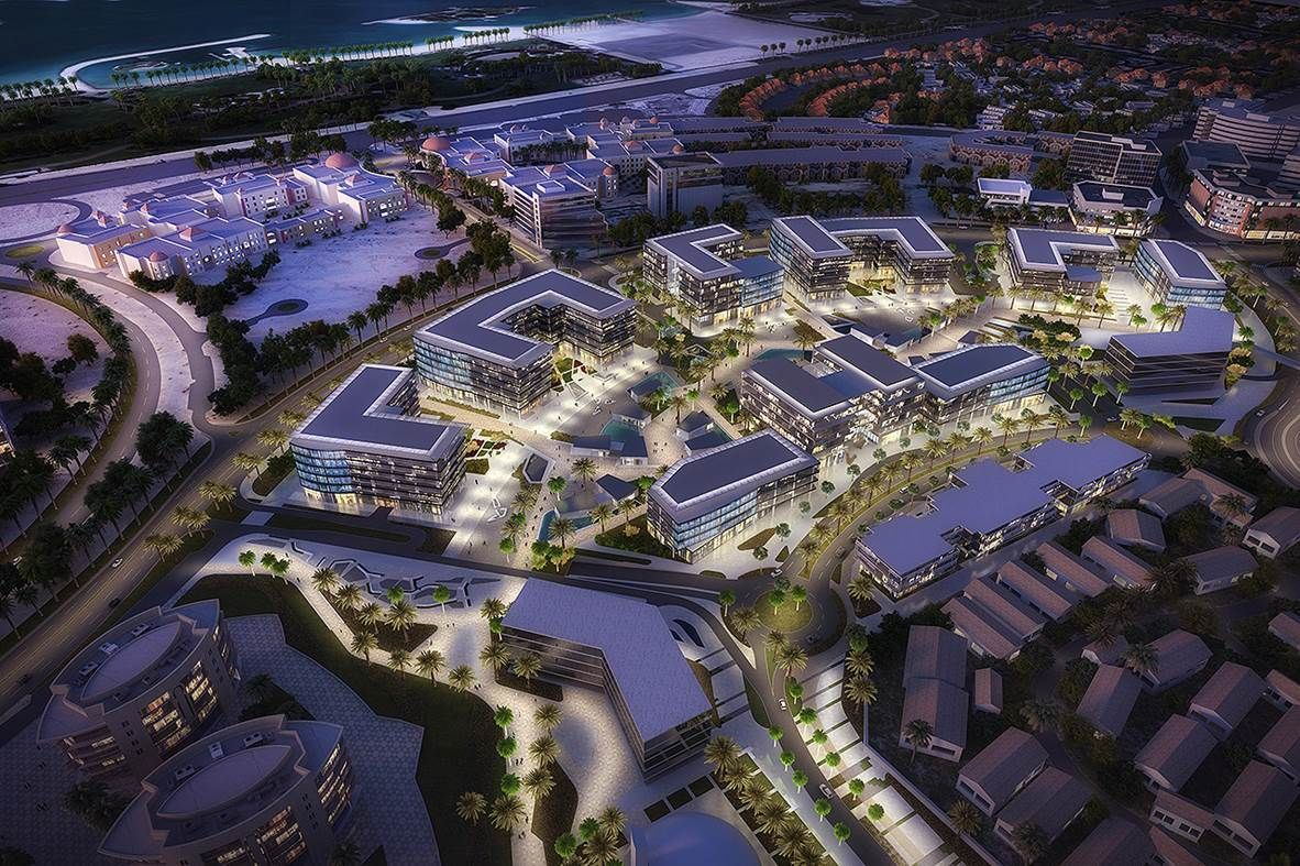 Innovation Hub In Dubai Unoted Arab Emirates By Rmjm Architecture Dubai Architecture Illustration