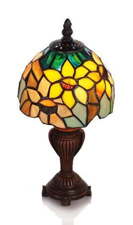 Sunflower Blossom Accent Table Lamp