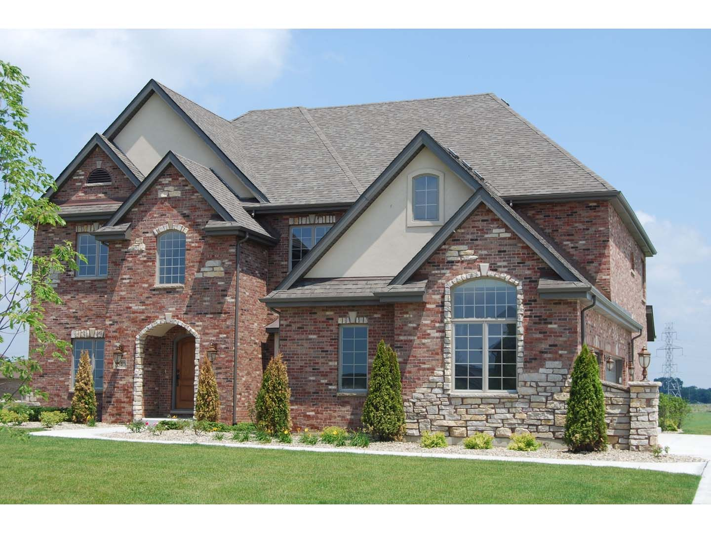 grey stone and stucco exterior houses - Google Search | Outside ...