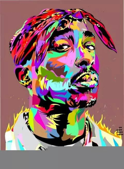 Tupac Painting Artwork