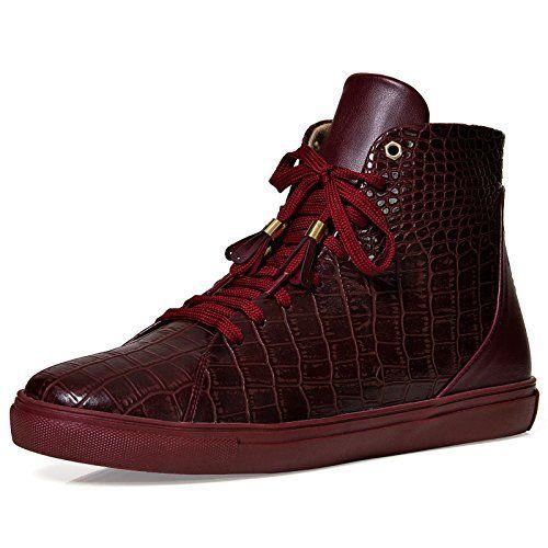 cb1940651940f8 High Top Herren Sneaker Schuhe Sport Skater Schwarz Blau Rot 260 - http