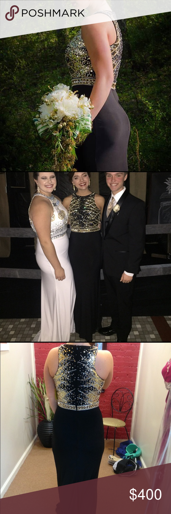Black and gold prom dress size gold prom dresses yellow brick