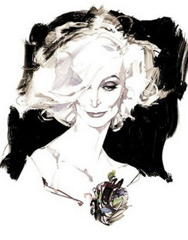 Fashion Illustrations by David Downton | it COLOSSAL