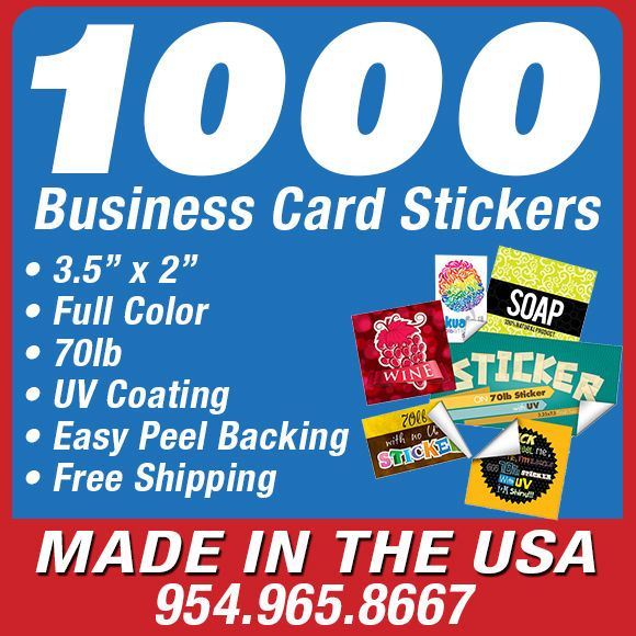1000 custom business card stickers printing full color 2x35 uv 1000 custom business card stickers printing full color 2x35 uv glossy reheart Gallery