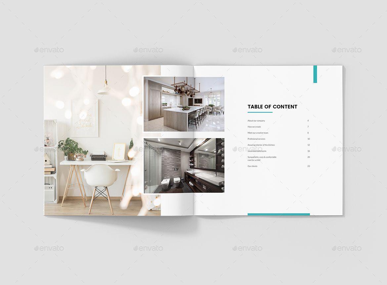 Interios C Interior Design Brochures Bundle Print Templates