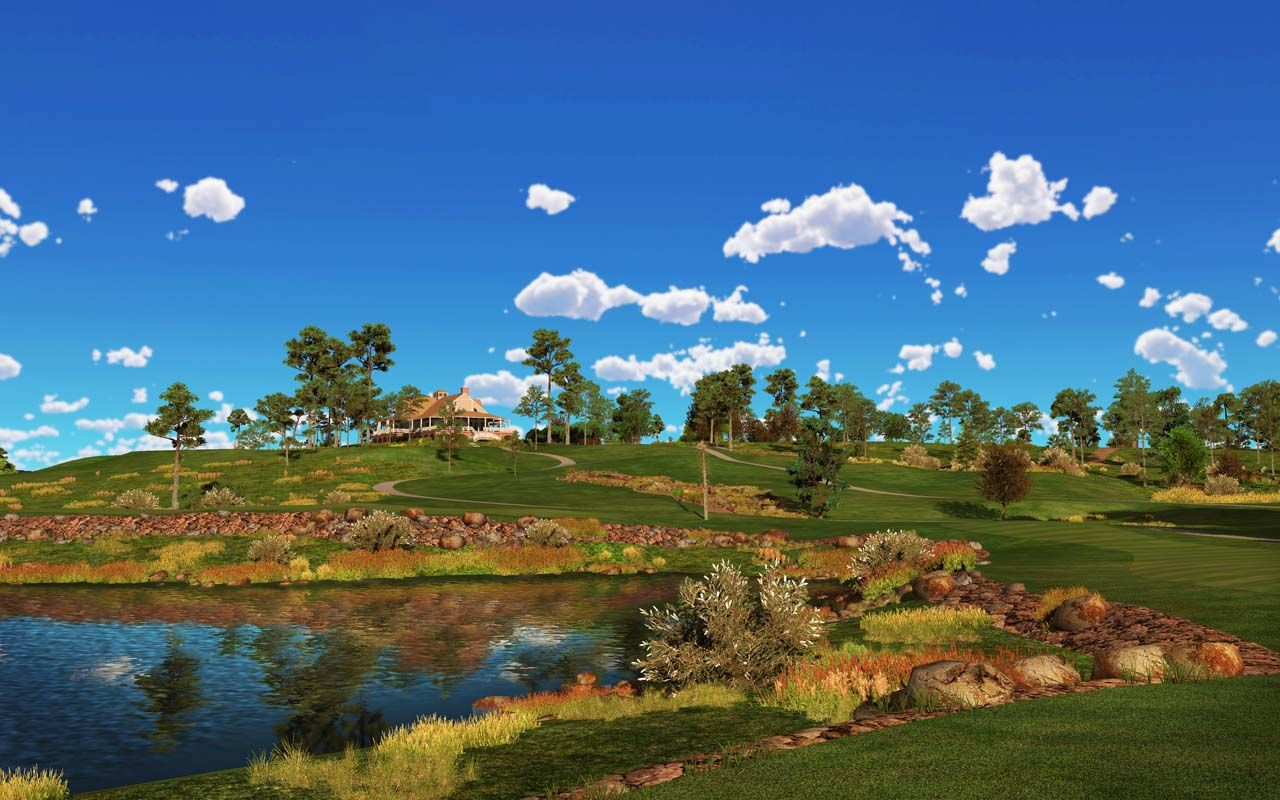 Virtual Golf Course Links At Grand National Trugolf Golf Courses Grand National Golf