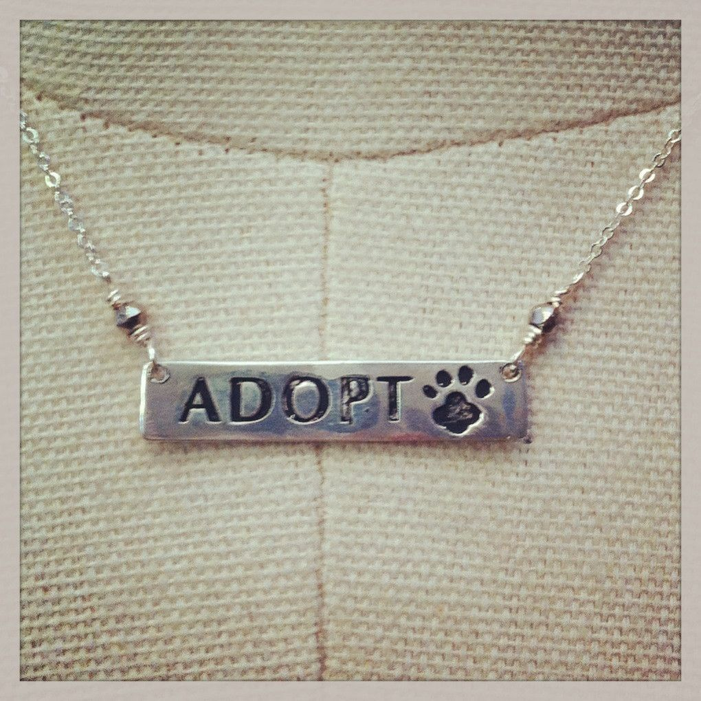 Our latest necklace - helping to save the lives of shelter animals - at a great new price...