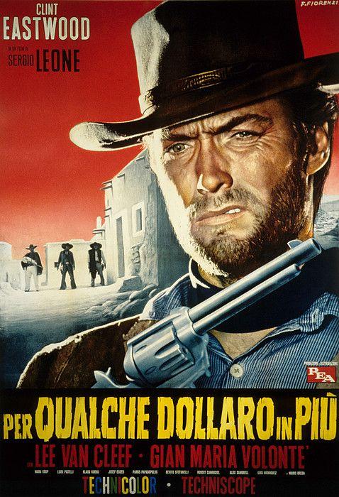 Youtube Film Western Complet En Francais Clint Eastwood : youtube, western, complet, francais, clint, eastwood, Dollars, More,, Clint, Eastwood, Movies,, Movie, Posters, Vintage